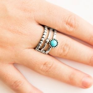 Summer Retreat Stretchy Ring